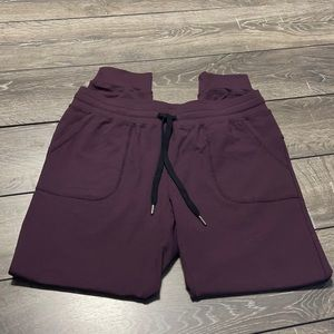 Zyia Active Plum Cozy Unwind Joggers in a Size L